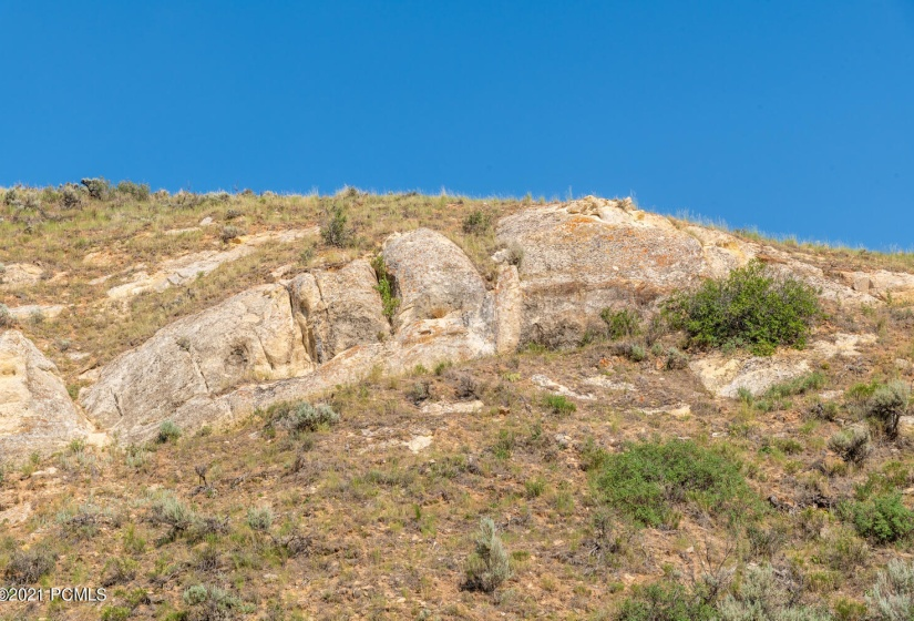lot 2 rock outcropping