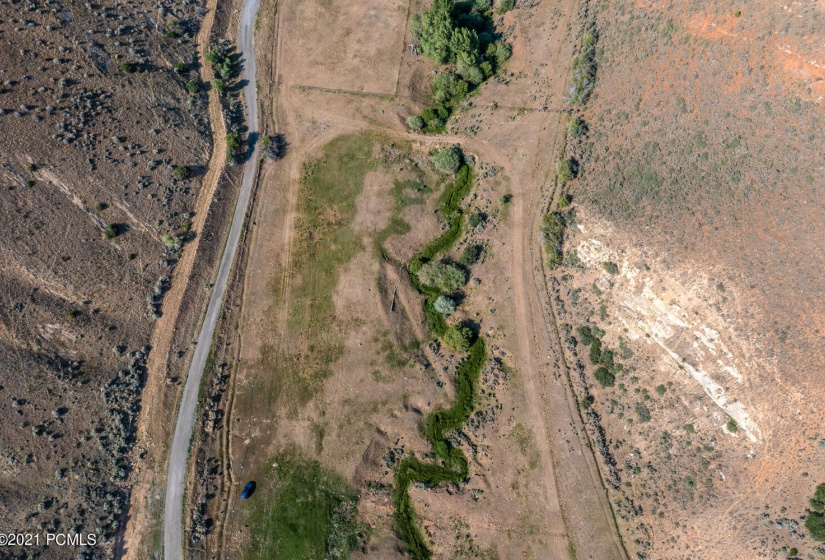 lot 2 aerial from above parcel